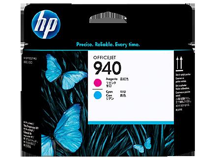 Печатающая головка (printhead) hp C4901A (hp 940) пурпурная и голубая