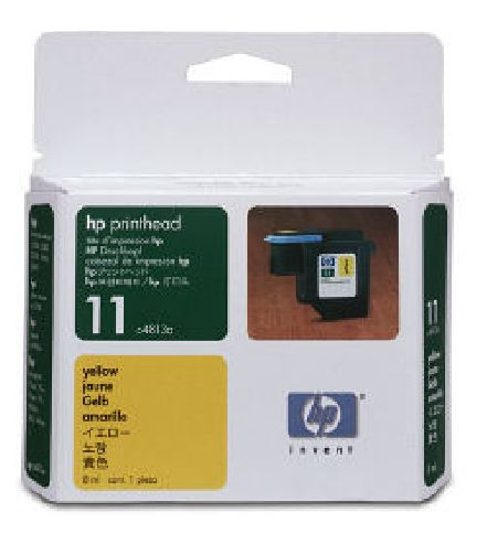 Печатающая головка (printhead) hp C4813A (hp 11) желтая