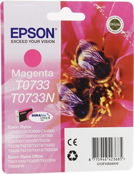 Картридж Epson T0733 (T07334A/T10534A10) пурпурный