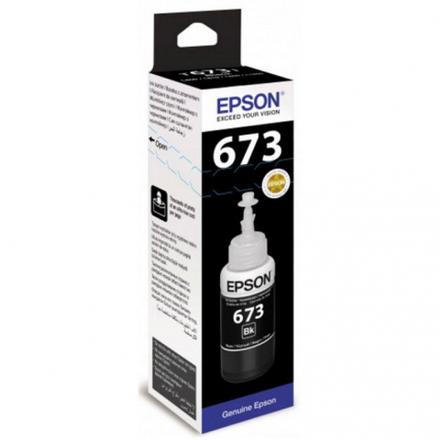 Контейнер с черными чернилами Epson 673 (T67314A/C13T67314A)
