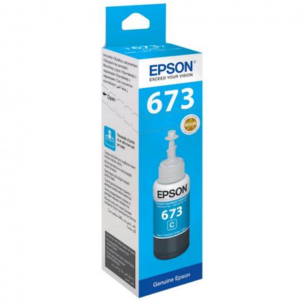 Контейнер с голубыми чернилами Epson 673 (T67324A/C13T67324A)