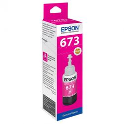Контейнер с пурпурными чернилами Epson 673 (T67334A/C13T67334A)