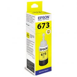 Контейнер с желтыми чернилами Epson 673 (T67344A/C13T67344A)
