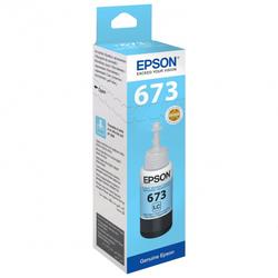 Контейнер со светло-голубыми чернилами Epson 673 (T67354A/C13T67354A)