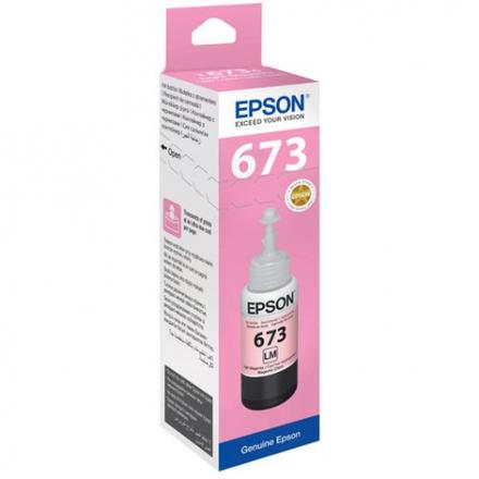 Контейнер со светло-пурпурными чернилами Epson 673 (T67364A/C13T67364A)