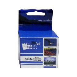Картридж UNIjet 122XL (CH564HE) цветной повышенной емкости совместимый аналог hp 122XL (CH564HE)