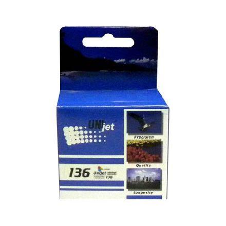 Картридж UNIjet 136 (C9361HE) цветной совместимый аналог hp 136