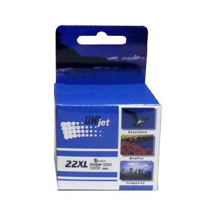 Картридж UNIjet 22XL цветной повышенной емкости совместимый аналог hp 22XL (C9352CE)