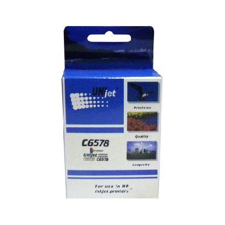 Картридж UNIjet 78 (C6578A) цветной повышенной емкости совместимый аналог hp 78A (C6578AE)